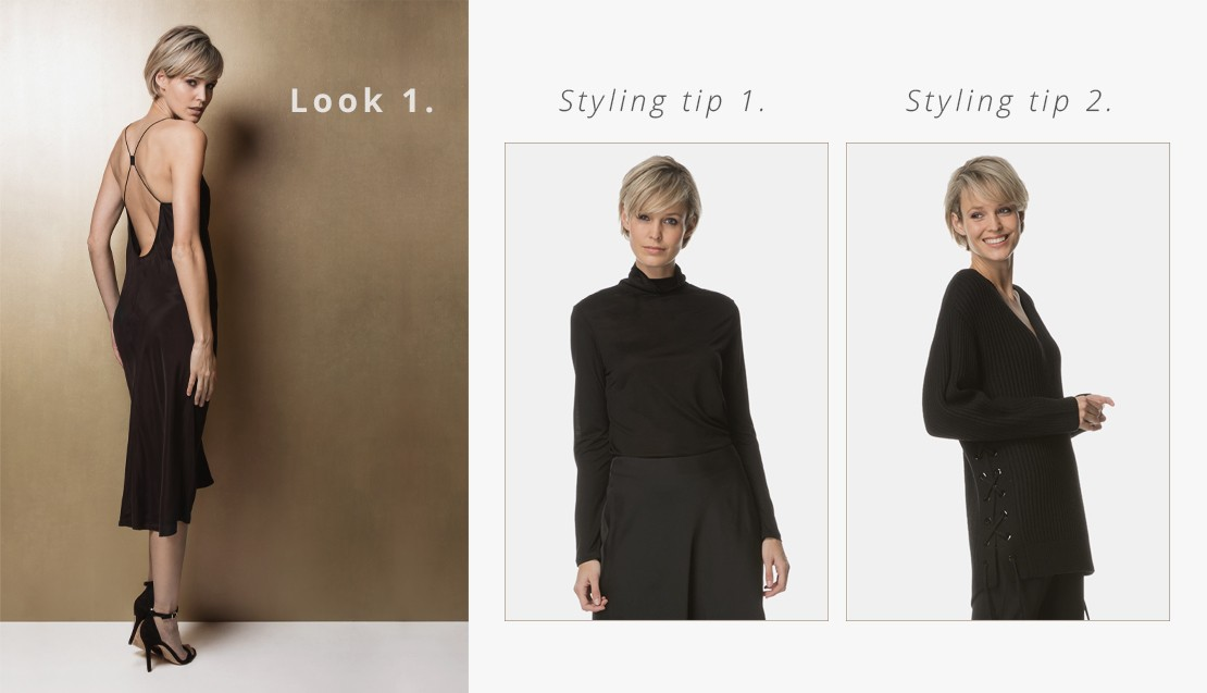 52bcb9dd9e STYLING TIP 1  When you want to give your party look a casual twist