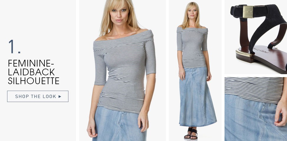 6c626fff65cd ... maxi skirt and flat sandals for a breezy spring styling or create a  classic-meets-urban style with boyfriend jeans