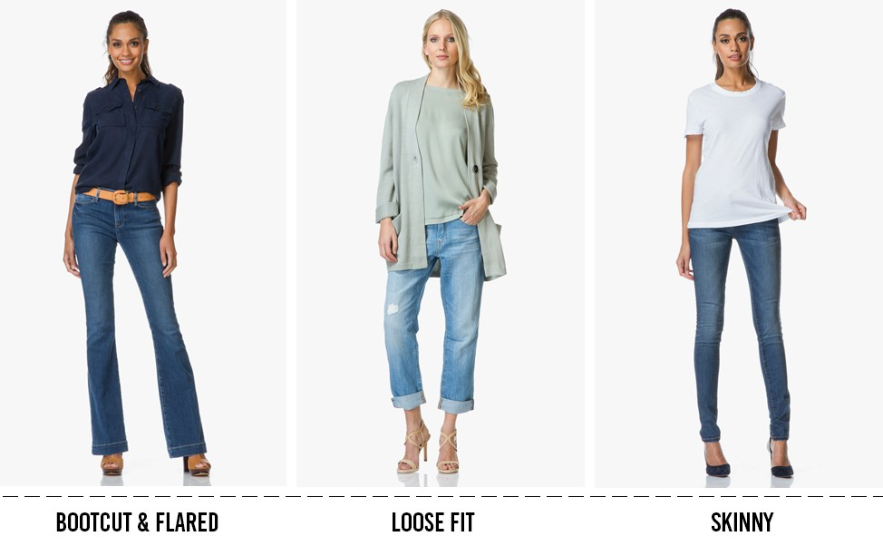 153c55dfd Go for a skinny style with stretch for the perfect fit. The slim-fit legs  of skinny jeans accentuate your hips and buttocks - show your feminine  silhouette.