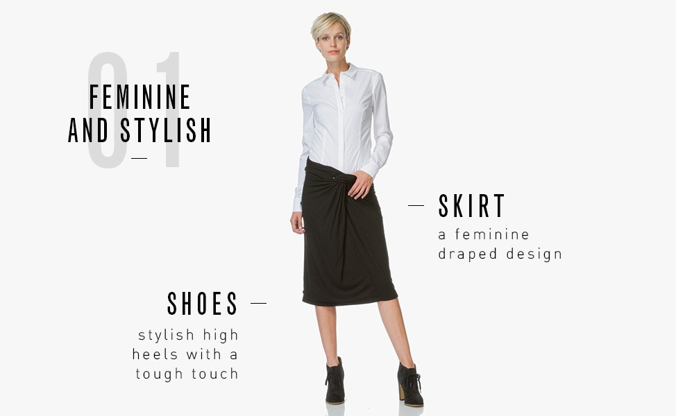 2e5734dcb8 Shop a Drykorn suit and get the Livy Blouse - worth 89