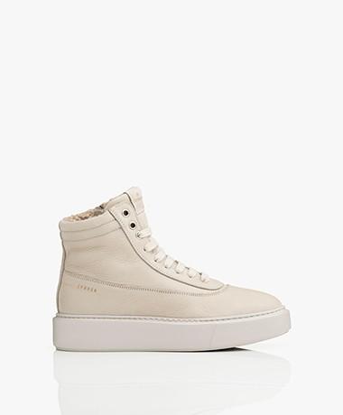 Copenhagen Studios Nubuck Leather Teddy Sneakers - Nature