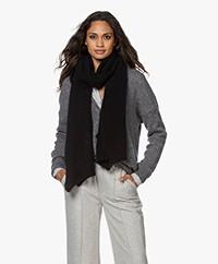 American Vintage East Alpacamix Sjaal - Zwart