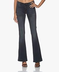 Denham Farrah Super Flare Jeans - Grey