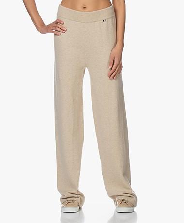 extreme cashmere N°104 Loose-Fit Cashmere Pants - Latte
