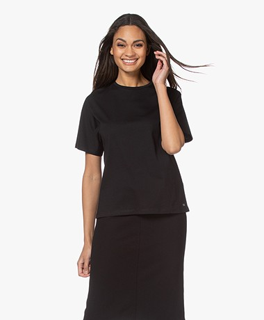 Filippa K Tori Organic Cotton T-shirt - Black
