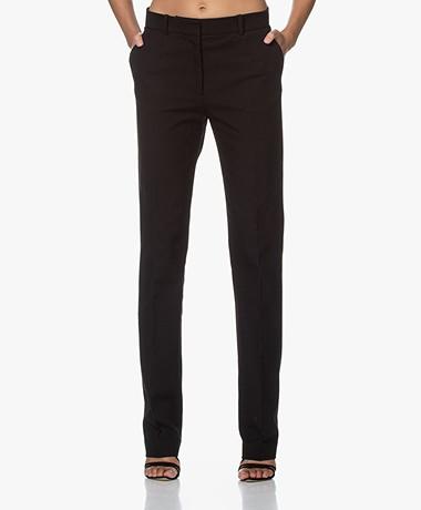 Joseph Cole Gabardine Stretch Pantalon - Zwart