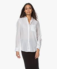 Filippa K Daphne Mesh Shirt - White