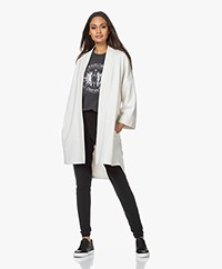 no man's land Oversized French Terry Vest - Off-white