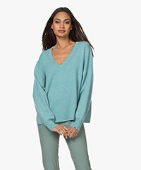 extreme cashmere N°161 Clac Cashmere Sweater - Cosmo