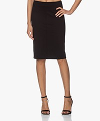 Filippa K Esther Punto di Roma Jersey Skirt - Black