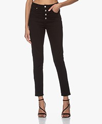 IRO Esme High-rise Skinny Jeans - Zwart