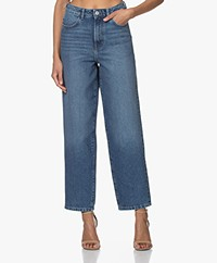 Les Coyotes de Paris Dewi High-rise No-stretch Mom Jeans - Vintage Denim