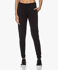 by-bar Jonas Washed French Terry Sweatpants - Jet Black
