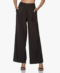 JapanTKY Fito Heavy Jersey Pants - Black/Gold