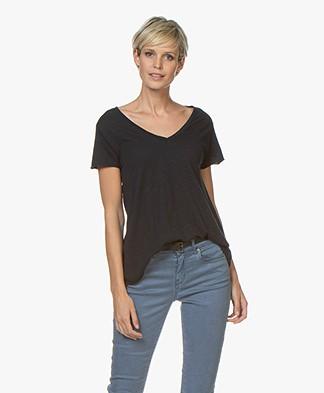American Vintage T-shirt Jacksonville - Donkerblauw