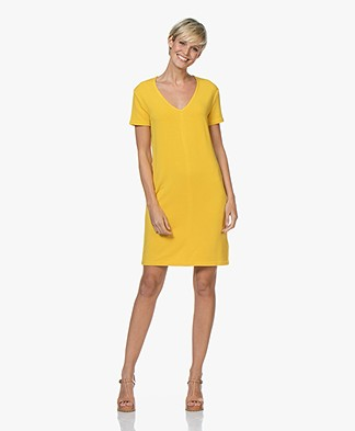 Majestic Filatures French Terry Tunic Dress - Topaze