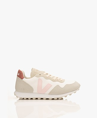 VEJA SDU Hexa B-Mesh Sneakers - White/Petal/Dried Petal