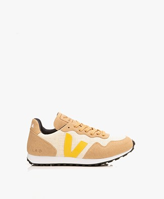 VEJA SDU Rec Juta J-Mesh Sneakers - Natural/Gold/Yellow