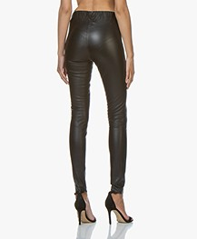 23b0651b16a27a Home; »; pants; »; leather & suede · By Malene Birger. Elenasoo Leather  Leggings Black