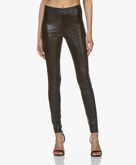 malene birger leather leggings