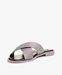 Matt & Nat Emilia Cross-over Slipper Sandals - Koala
