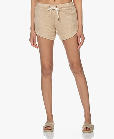 Love Stories Mia Terry Jersey Shorts - Pearl Jam