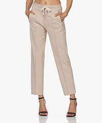 Drykorn Access Ponte Jersey Pants - Beige