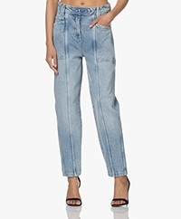 IRO Orionis Relaxed-fit Acid Wash Jeans - Random Blue