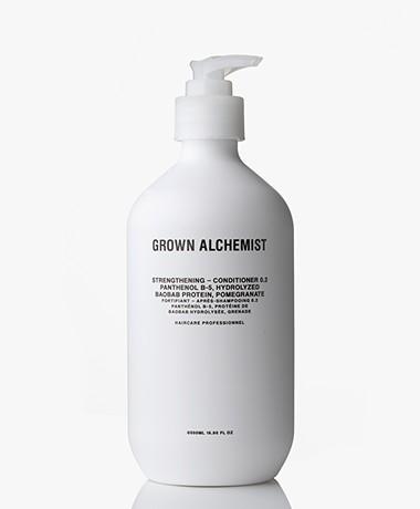 Grown Alchemist 500ml Strengthening Conditioner - Panthenol B-5/Baobab & Granaatappel