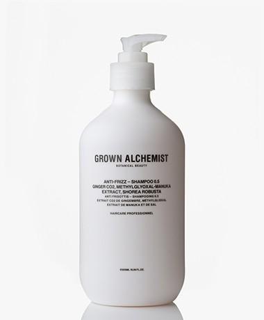 Grown Alchemist 500ml Frizz-Reduction Shampoo - Gember CO2/Manuka & Salboom
