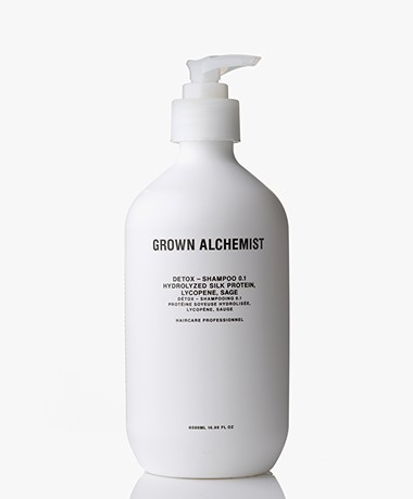 Grown Alchemist 500ml Detox Shampoo - Zijdeproteïnen/Lycopeen & Salie