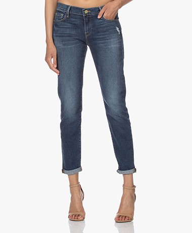 FRAME Le Garcon Girlfriend Jeans - Azure