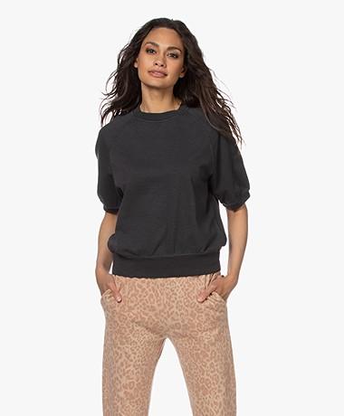 Drykorn Alenne Sweatshirt met Korte Mouwen - Zwart