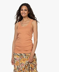 By Malene Birger Newdawn Tank Top - Toasted Nut