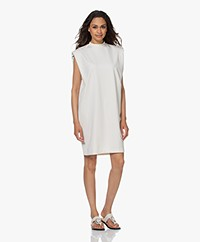 Drykorn Valona Shoulder Padding Dress - Off-white