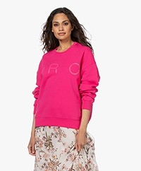 IRO Yvora Cotton Sweatshirt - Fushia