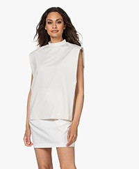 Drykorn Jeyliss Shoulder Padding Top - Off-white