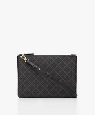 By Malene Birger Ivy Mini Schoudertas - Dark Chokolate