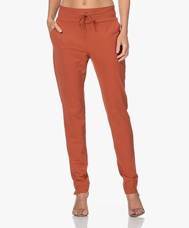 JapanTKY Yogi Travel Jersey Pants - Backed Clay