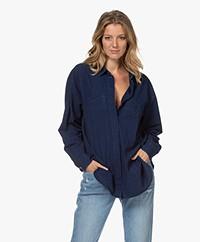 Closed Kara Cotton Denim Shirt - Mid Blue