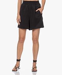 Drykorn Sweetie Cupro Blend Shorts - Black