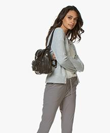 Rag & Bone Small Field Leather Backpack - Black
