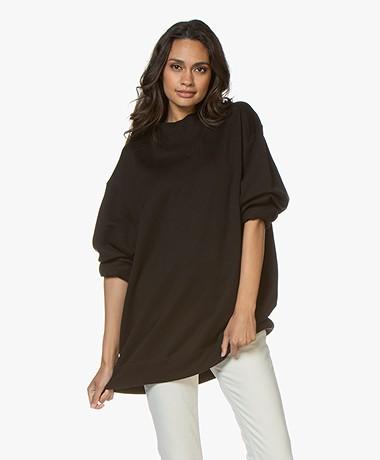 Filippa K Soft Sport Oversized Sweatshirt - Black
