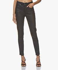 Drykorn Wet Coated Skinny Jeans - Deep Dark Blue