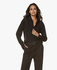 Filippa K Jill Jersey Shirt - Black