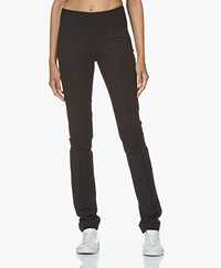 Joseph Floyd Gabardine Stretch Pants - Navy