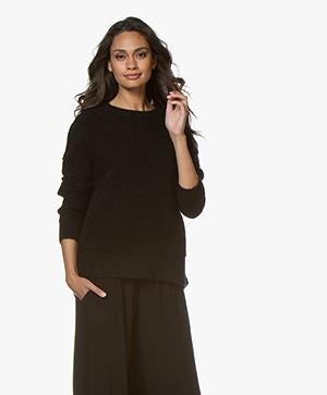 By Malene Birger Biagio Mohair Blend Sweater - Black