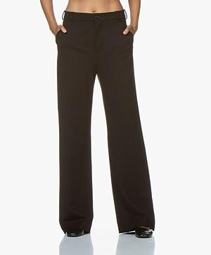 Filippa K Ivy Jersey Pantalon - Zwart