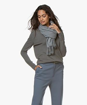 Filippa K Cashmere Blend Sjaal - Mineral Grey