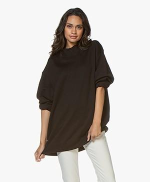 Filippa K Soft Sport Oversized Sweatshirt - Zwart